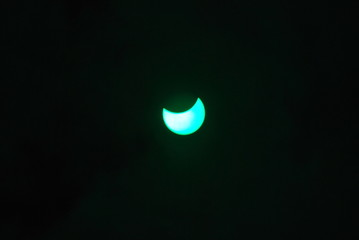 eclisse nube