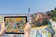 Travel to landmarks of Barcelona (Catalunya)