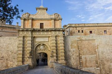Medina is the ancient capital of Malta.