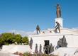 Liberty monument statue landmark in Nicosia, Cyprus - 81404259