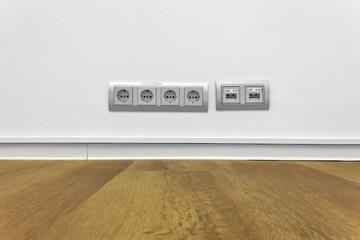 Steckdosen Anschluß © Matthias Buehner