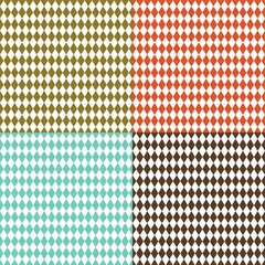 Rhombus retro background