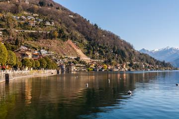 Cannero Riviera, Lago Maggiore, Verbania, Piemonte, Italia