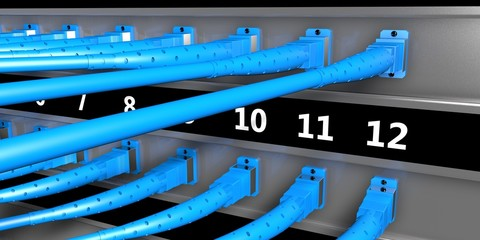 Optical fiber server