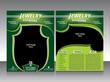 jewelry flyer design & brohure
