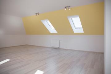 Spacious room in the attic