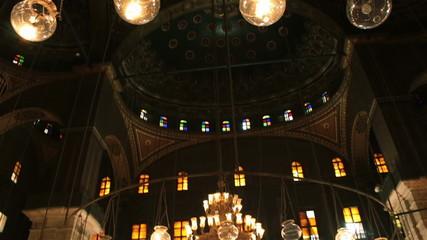Mosque of Muhammad Ali Pasha. Interior. Egypt