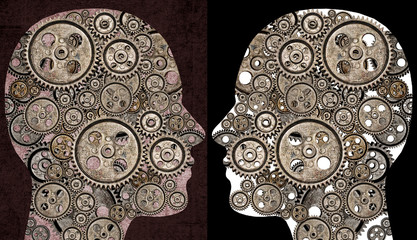 Modern Communication - gears in heads
