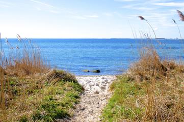 Geheimer Weg zum Meer