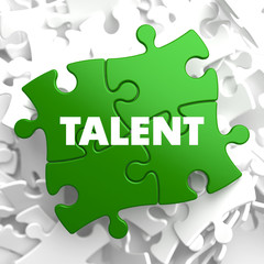Talent on Green Puzzle.