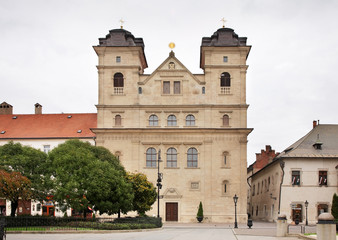 Baroque Jesuits Church in Kosice. Slovakia