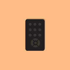 remote flat icon  vector illustration eps10
