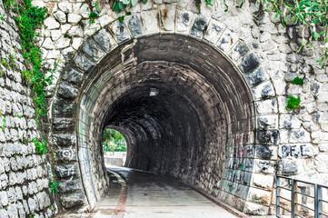 Old tunnel in Herceg Novi, Montenegro