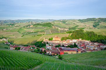 Barolo and Langhe panorama, Italy