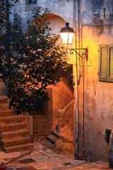 Toscana,Isola d'Elba,strada di Marciana.