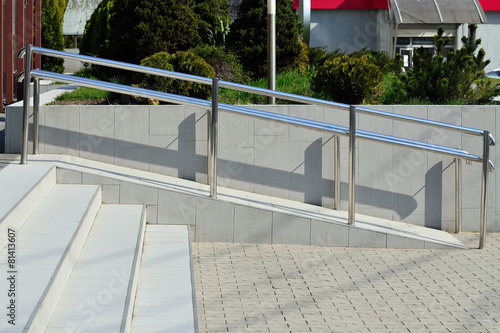 Canvas Trappen Ramp