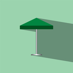umbrella flat icon  vector illustration eps10