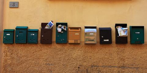 Cassette postali,Italia.