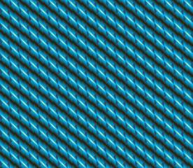 Blue cyan zigzag plait seamless pattern