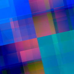 Blue Pink Geometric Background. Abstract Backdrop Design.