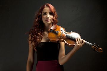 Violinst Woman