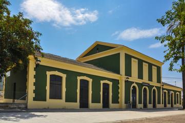 Estación de Almorchón, Cabeza del Buey, Badajoz, Extremadura