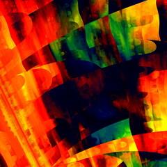 Artistic Colorful Art. Creative Brushstrokes Texture.