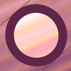 Unique Purple Pink Frame. Abstract Computer Background.