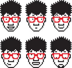 Pixel People Five