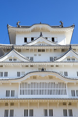 平成の大修理後の姫路城