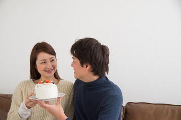 夫婦 ケーキ