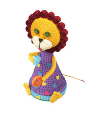 .Toy of Quilling. lion