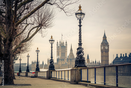 Keuken foto achterwand Bestsellers Big Ben and Houses of parliament, London