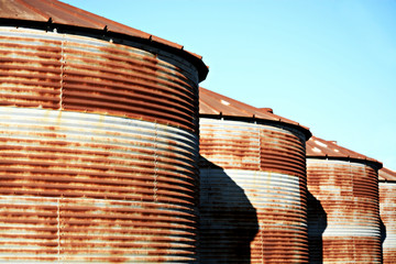 Rusted Silos