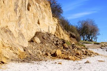 Steilküste mit Abbruch
