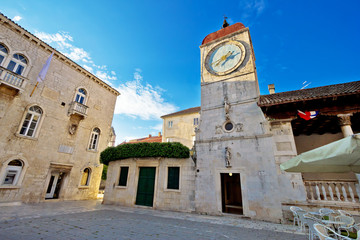 UNESCO town of Trogir square