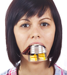 Medicines in the mouth