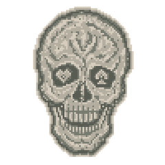 Digital skull 1