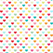 Herzen Bunt Pattern