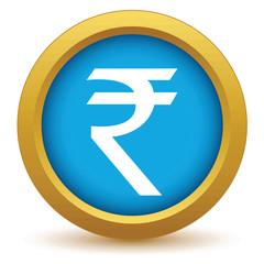 Gold rupee icon