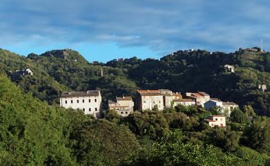 Villages de costa verde en haute corse