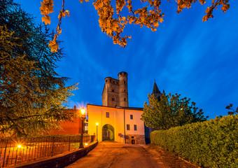 Early morning in Small italian town.