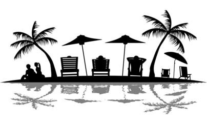 Silhouette Strand