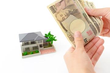 紙幣とマイホーム