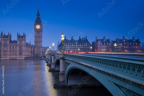 Staande foto Brug London landmark Big Ben