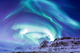 Fototapety The Northern Light Aurora Iceland