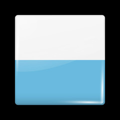 Flag of San Marino. Glossy Icons