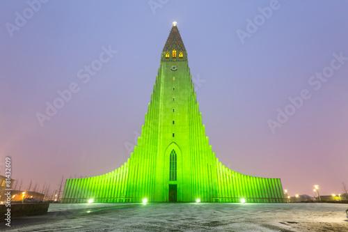 Hallgrimskirkja Cathedral Reykjavik Iceland - 81432609
