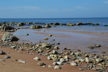 Seaside and stones