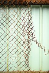 Broken net.